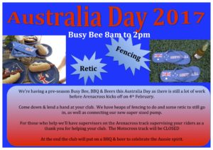 Australia Day Busy Bee
